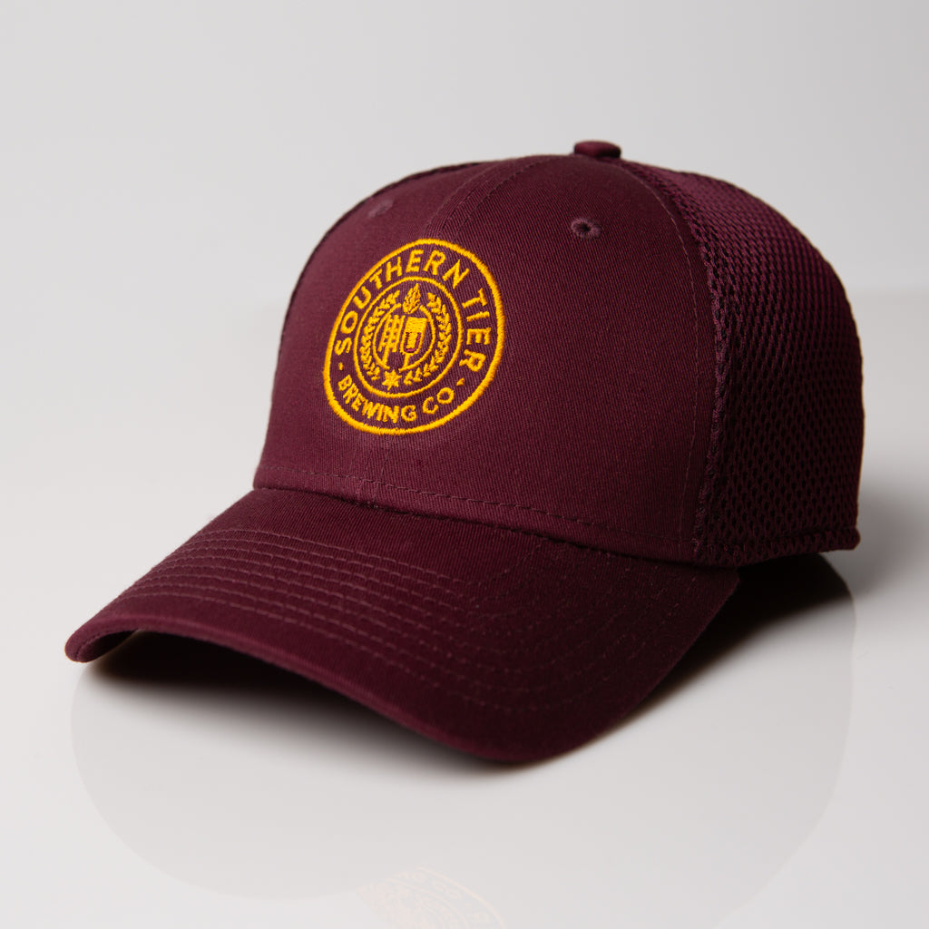 Southern Tier Stretch Mesh Hat | Maroon