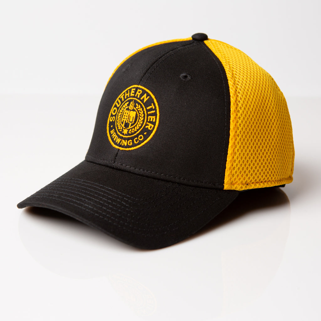 Southern Tier Stretch Mesh Hat | Black