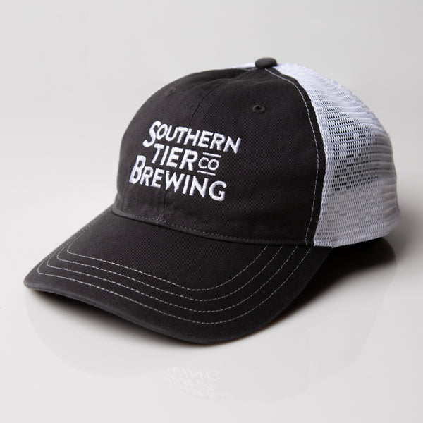Southern Tier Washed Trucker Hat | Charcoal
