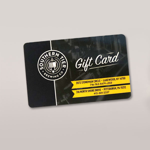 Southern Tier Taproom Gift Card