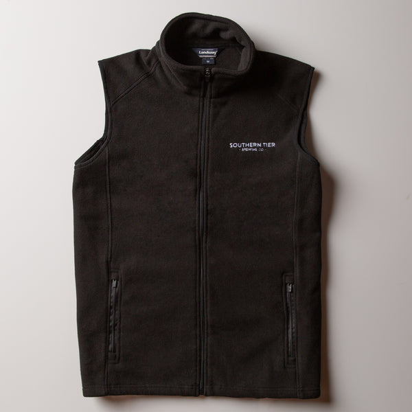 Southern Tier Fleece Vest | Black
