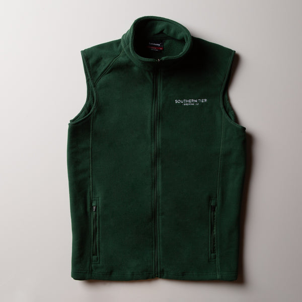 Southern Tier Fleece Vest | Green