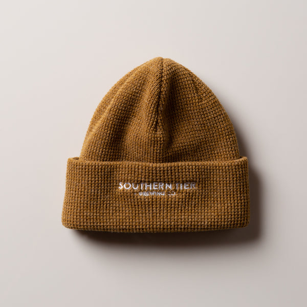 Southern Tier Waffle Beanie | Caramel