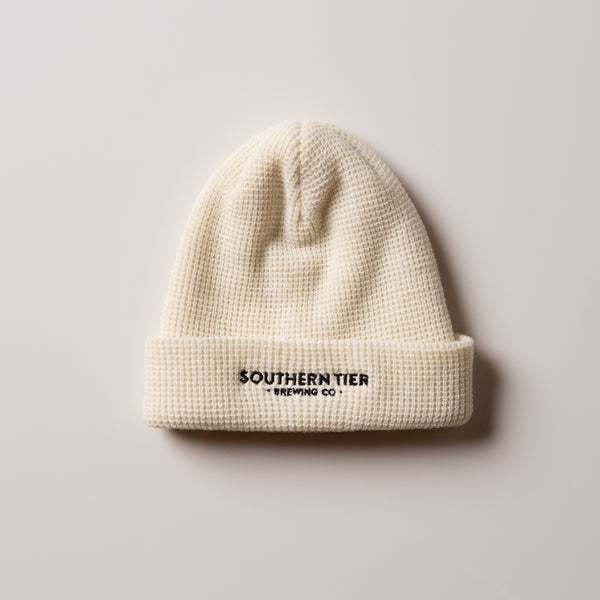 Southern Tier Waffle Beanie | Cream