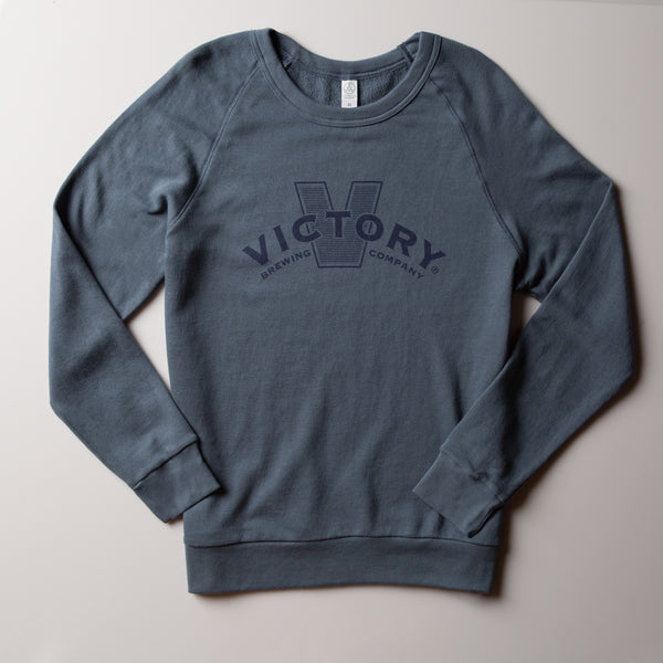 Victory Crewneck | Washed Denim