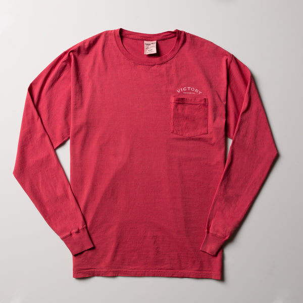 Victory Pocket Tee | Red
