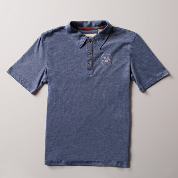 Victory Men's Jersey Polo | Light Blue