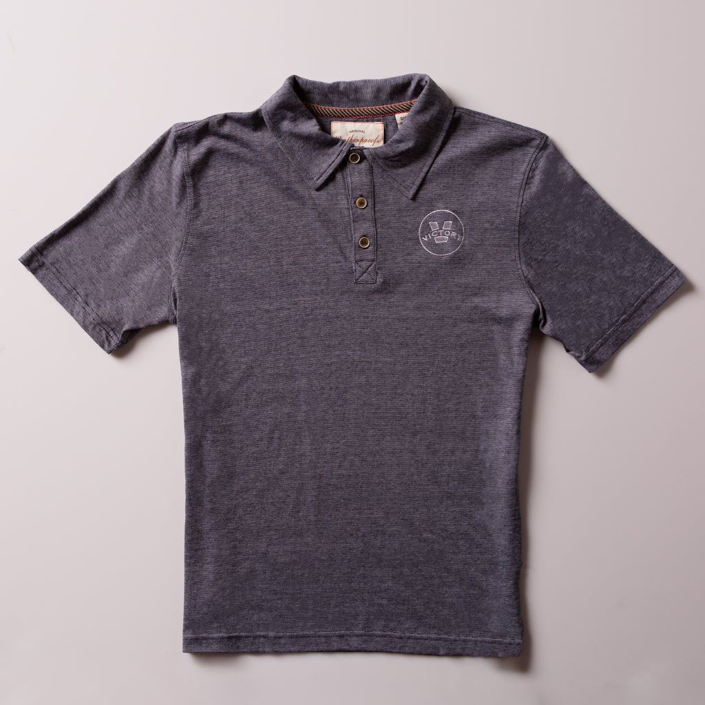 Victory Men's Jersey Polo | Navy