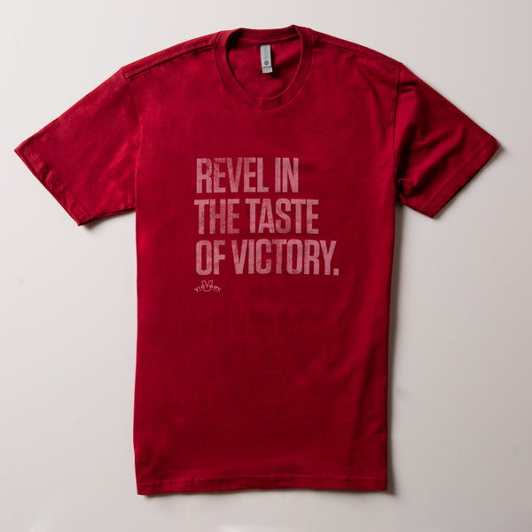 Victory Revel Tee | Cardinal Red