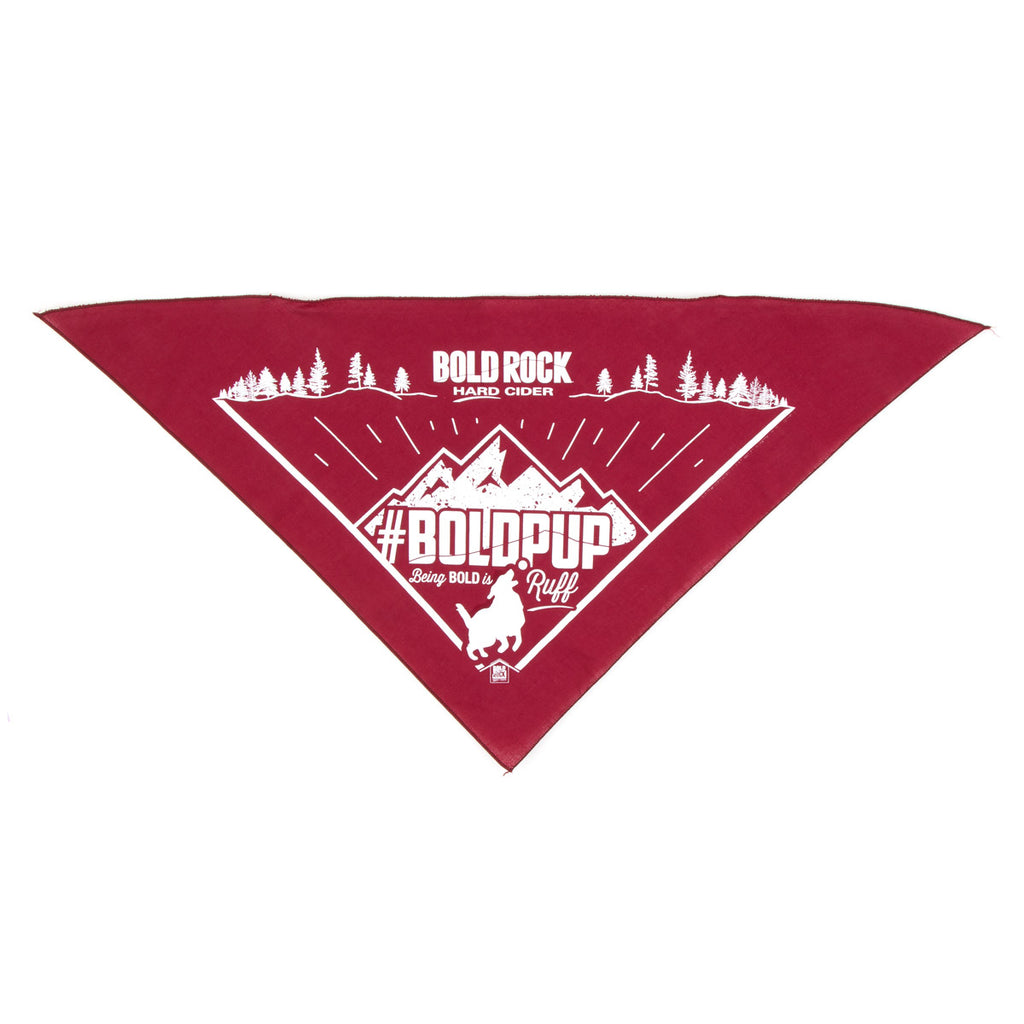 Bold Rock Pet Bandana | Wine