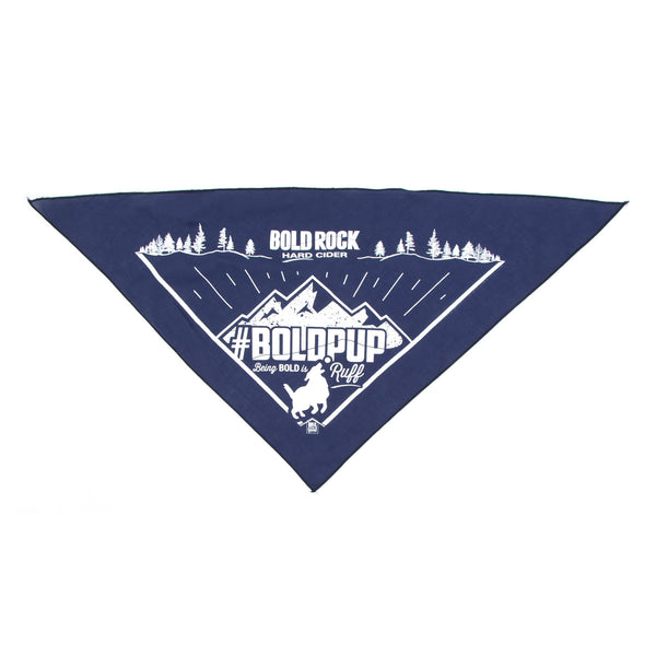 Bold Rock Pet Bandana | Navy
