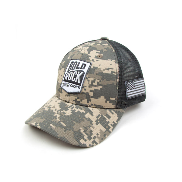 Bold Rock Camo Trucker Hat