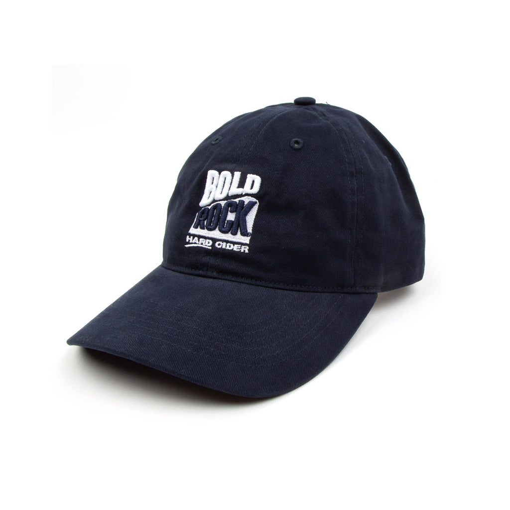 Bold Rock Puff Embroidered Logo Cap | Navy