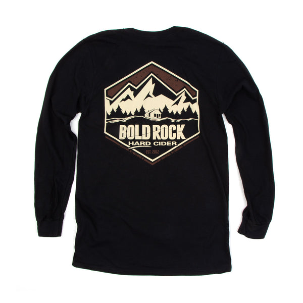 Bold Rock Diamond Long-Sleeve Tee