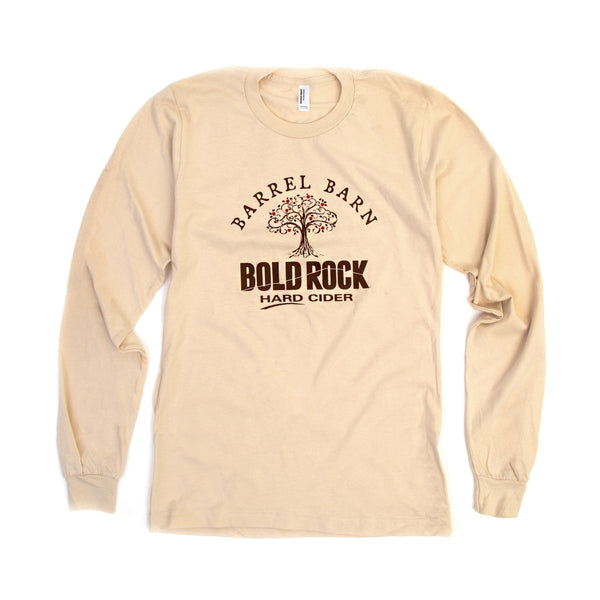 Bold Rock Barrel Barn Long-Sleeve Tee | Cream
