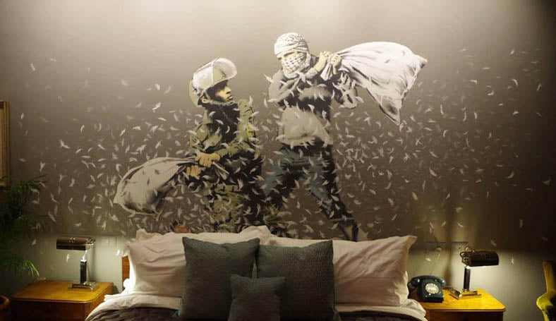 Walled Off Hotel Banksy