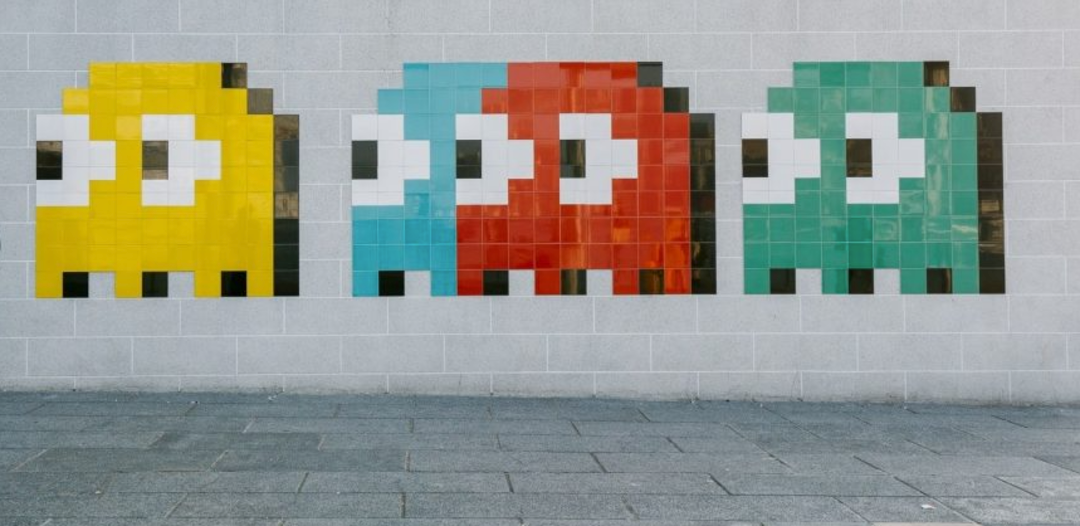 mosaique space invader