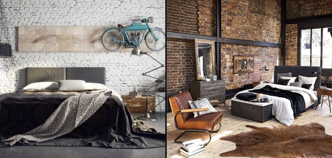 Chambre Style industrielle