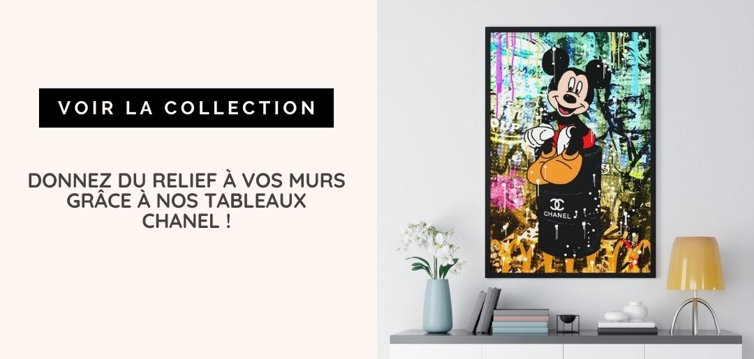 tableau chanel mickey