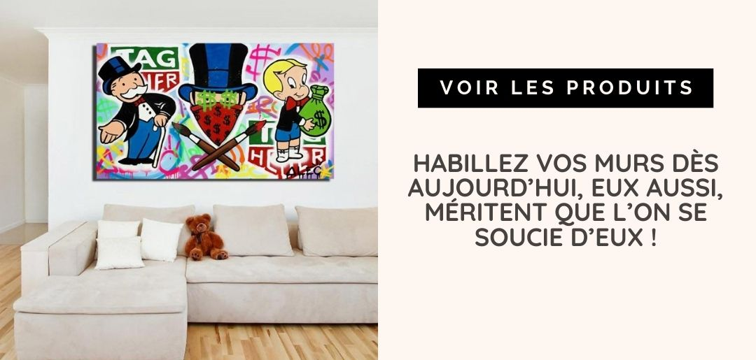 toile reproduction alec monopoly