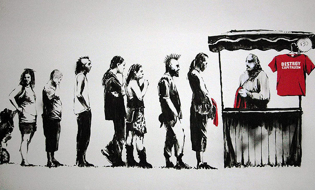 oeuvre engagée banksy