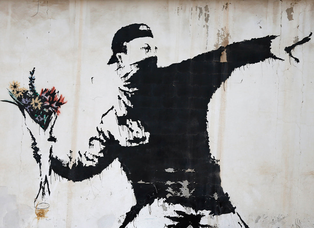 banksy beach boy analyse