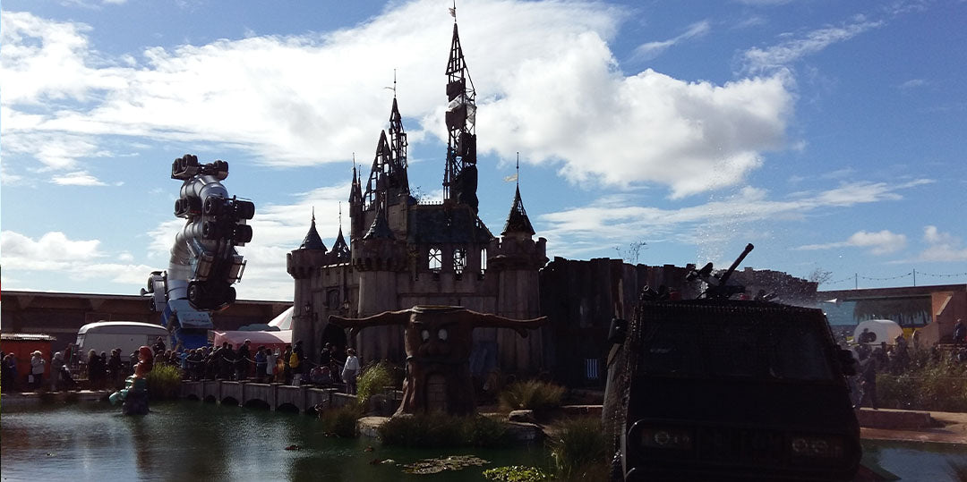 banksy dismaland oeuvres
