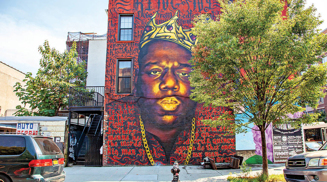biggie street art new york