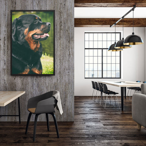 Tableau Animaux Rottweiler