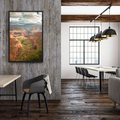 Tableau Canyon Moderne