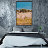 Tableau Savane Africaine Antilopes