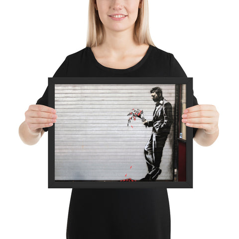 tableau design banksy le gentleman