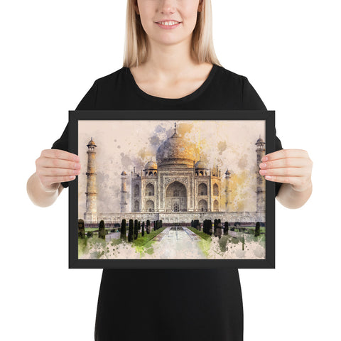Tableau Taj Mahal Pop art