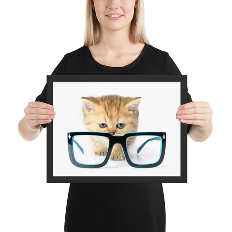 tableau chat moderne chaton