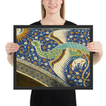tableau design mosaique contemporain