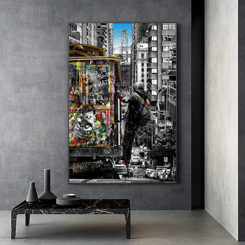 tableau Pop Art Banksy