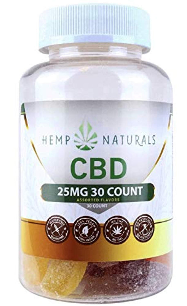 Hemp Gummies Full Spectrum (750mg) 25mg per 30 count Assorted Flavors