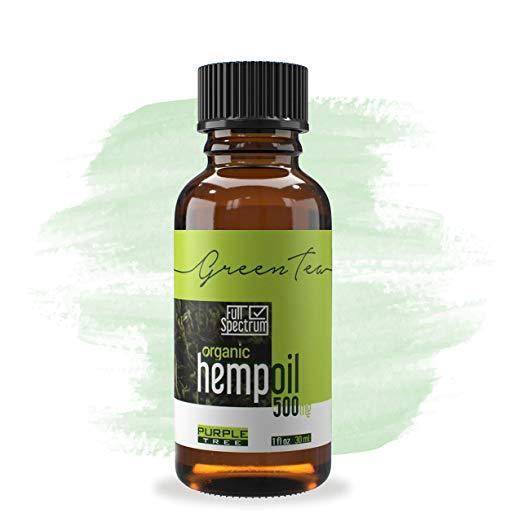 Hemp Oil Extract | Pain, Anxiety & Stress Relief | Anti-Inflammatory & Joint Support 500 mg