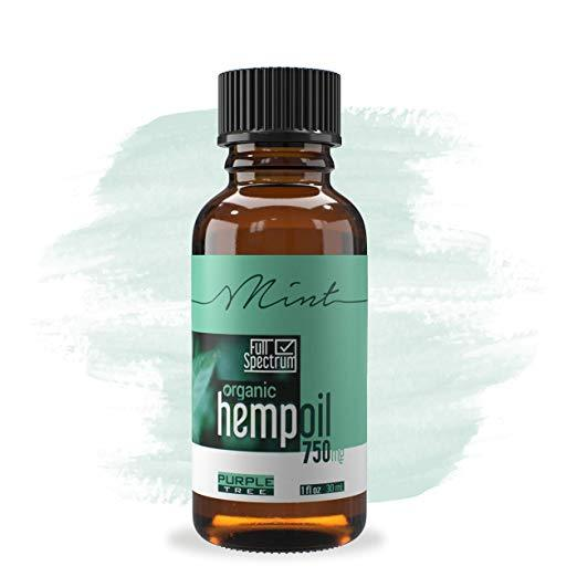 Hemp Oil Extract | Pain, Anxiety & Stress Relief | | Anti-Inflammatory & Joint Support Mint 750mg