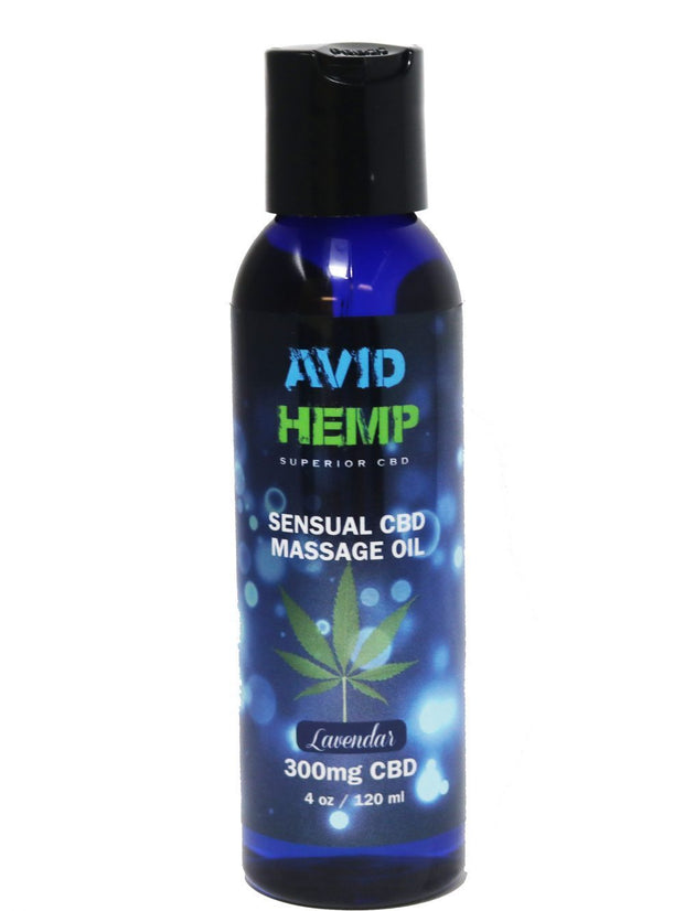 SENSUAL CBD MASSAGE OIL 300MG