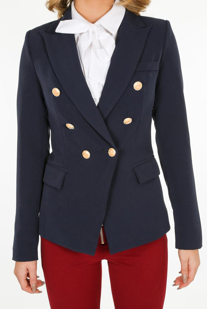 Load image into Gallery viewer, B Blazer Navy