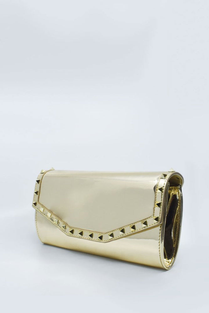 Valentina Gold Bag