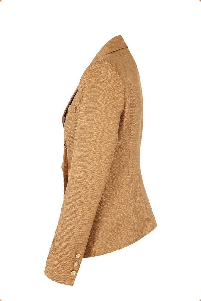 Bal Camel Structured Blazer