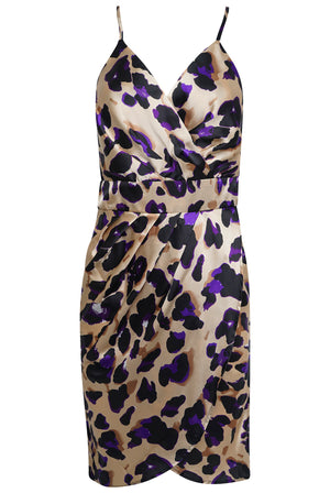 Load image into Gallery viewer, Layla Leopard Print Dress