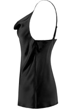 Amber Slinky Vest Top Black