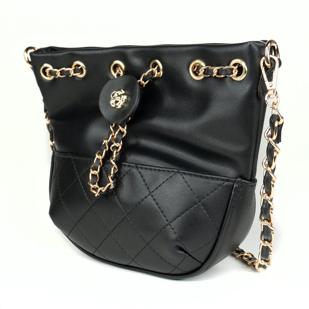 Coco Messenger Bag - Black