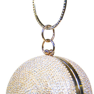 Load image into Gallery viewer, Disco Ball Gold Bag