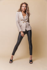 Bal Beige Structured Blazer