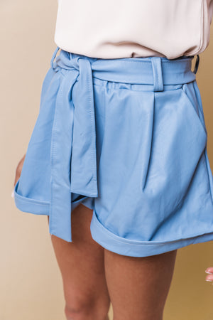 Load image into Gallery viewer, Spring Blue Shorts