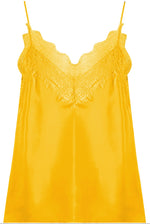 Lace Yellow Cami